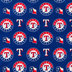 MLB Texas Rangers Cotton Fabric